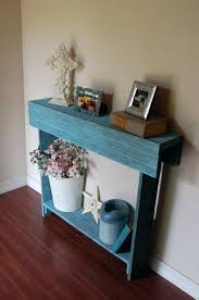 Turquoise Console Table Diy Thin Entry Table Narrow Small Console Mirror Sideboard Set Leg