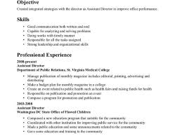 resume for public health resume for study
