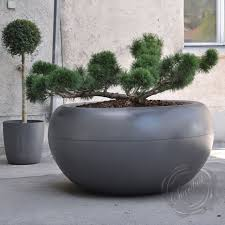 Black Planter Boxes by Modern Interior Design Commercial Large Round Planter Boxes
