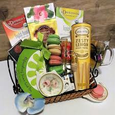 coffee and tea gift baskets tea gift basket