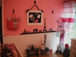 enchanting pink paris room decor cool home decorating ideas with