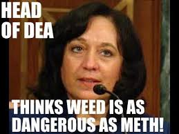 Meth Meme - dea chief thinks weed is as dangerous as meth