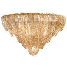 art deco style murano glass chandelier marc fray