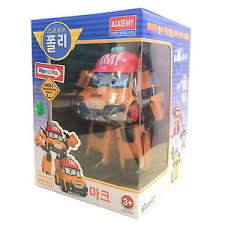 robocar poli mark transformer robot truck car toy action figure
