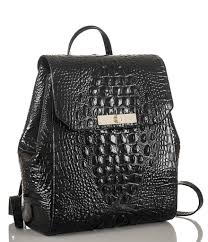 brahmin melbourne collection gloria croco embossed backpack in
