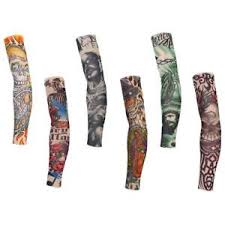 6pc bicycle bike cycling tattoo arm warmers cuff sleeve cover sun