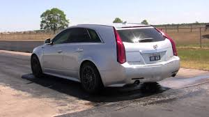 hennessey cadillac cts v wagon hennessey s hammer wagon doing burnouts