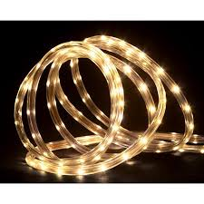 18 warm white led indoor outdoor rope lights walmart
