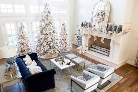 White Christmas House Decor by Our Home For Christmas Pink Peonies By Rach Parcell