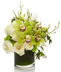orchid bouquet ivory and emerald orchid bouquet at from you flowers