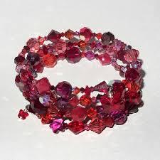 red crystal bracelet images Otter originals red crystal wrap cuff jpg