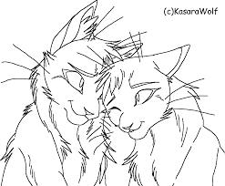 image 1075deaf4d2443a641e016447d01f7a9 warrior cat coloring only
