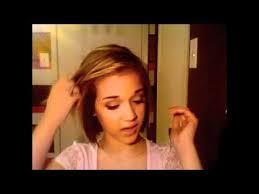 utube bump hair in a bob hair tutorial quick and easy hairstyles for short hair bob