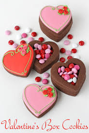 valentines cookies s heart cookie boxes glorious treats