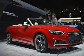 audi convertible interior 2018 audi s5 cabriolet has one of the best interiors in detroit