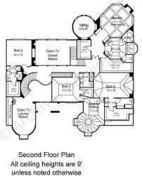 kedleston french country house plans luxury floor plans