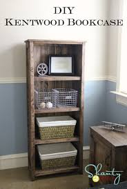 Barrister Bookcase Plans Ana White Kentwood Bookshelf Diy Projects