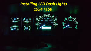 how to install led dash lights new glow to your dash youtube