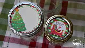 editable printable jar labels christmas mason jars holiday gift free lid editable 34 incredible