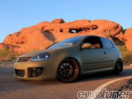 volkswagen rabbit 2007 vw rabbit jacked up rabbit eurotuner magazine