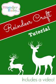 make your own foot reindeer ornament wonderbaby org