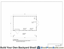 shed floor plan shed plans