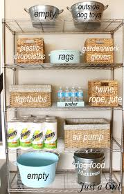 How To Organize Garage - organized garage shelves lowes creator