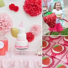strawberry shortcake birthday party ideas a strawberry shortcake birthday party best birthday party ideas