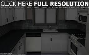 kitchen design black and white home decoration ideas