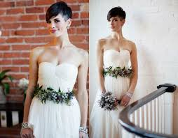 short pixie wedding hairstyles to inspire all brides hairstyles