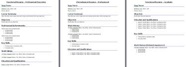 Functional Resume Format Example by Functional Resume Template When To Select Functional Resume Format