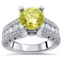 canary yellow engagement ring buy canary yellow engagement rings shop now and save