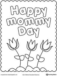 coloring pages mothers day flowers happy mother s day coloring page flowers sunday school and crafts