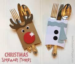 christmas holders i 2 cut paper christmas silverware holders tutorial