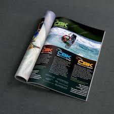 cbk magazine advert print azura design