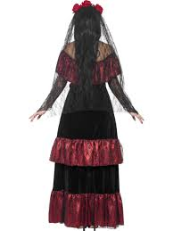 mexican day of the dead zombie bride ladies halloween fancy