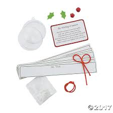 wishing ornament christmas craft kit