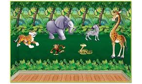 jungle backdrop jungle insta theme backdrops props partycheap
