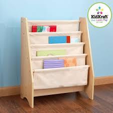 children u0027s easy access sling bookshelf storage ideas