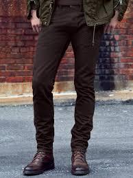 ralph lauren black label straightleg jeans in brown for men lyst