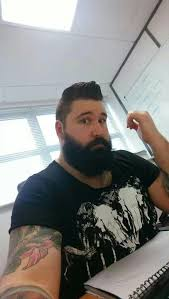 collections of big bearded man cute hairstyles for girls
