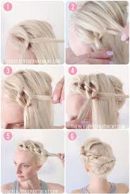 easy messy buns for shoulder length hair 20 easy no heat summer hairstyles for girls with medium length