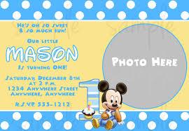1st birthday invitations free printable gallery invitation