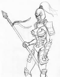 sketch dump female soldier by newmutant on deviantart