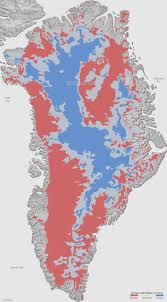 Slippery Rock University Map Maps Thawed Areas Under Greenland Ice Sheet