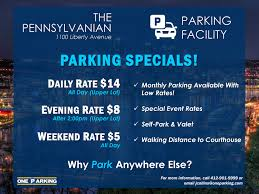 monthly parking jersey city parking specials in pittsburgh at 1100 liberty avenue one