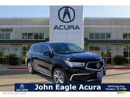 2017 crystal black pearl acura mdx technology 115250959