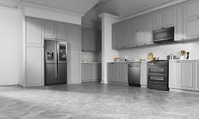 kitchen with stainless steel appliances black stainless steel appliances design blog