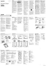 sony dvd home theater system dav tz140 sony dav tz140 user manual