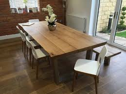 rustic dining room tables and chairs rustic oak dining table abacus tables